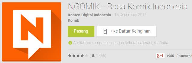 Aplikasi Baca Komik Indonesia Di Android