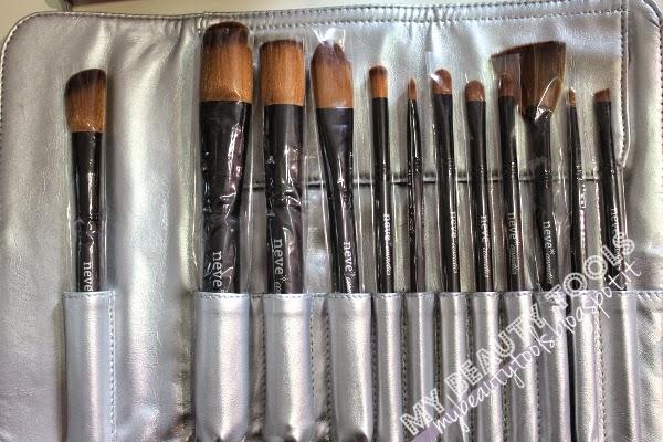 set pennelli platinum Neve Cosmetics