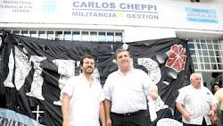 Cristian Arroyo y Carlos Cheppi