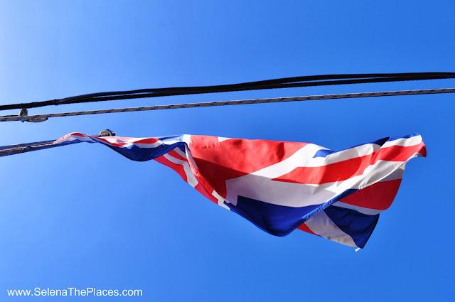 Union Jack HMS Belfast London