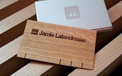 Las tarjetas de presentación de madera no son solo para los negocios ...