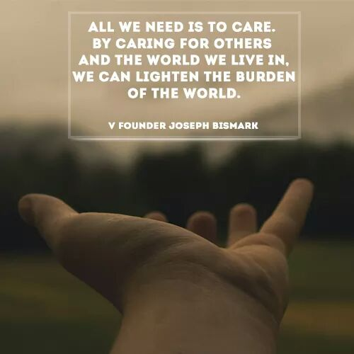 Joseph Bismark - All We Need Is To Care