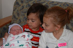 Baby brother makes Three!