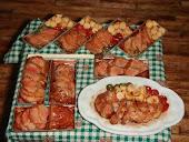 Мясо из пластики! Meat of plastics.