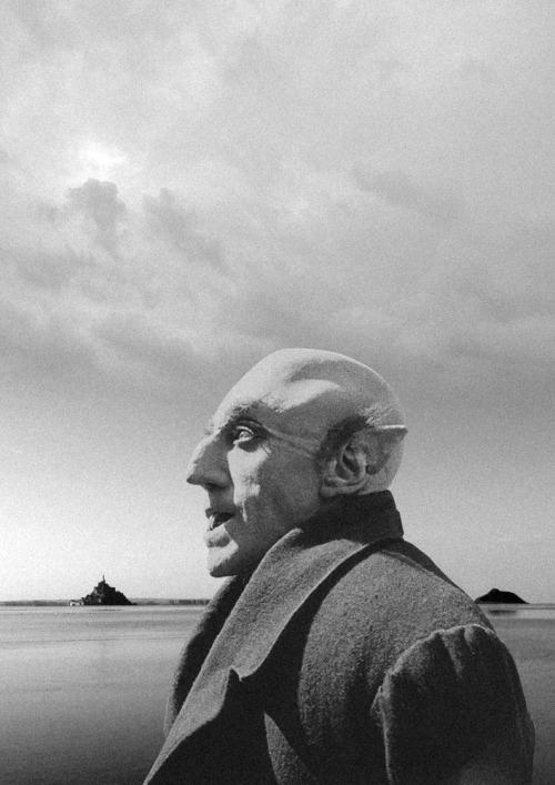Pierre-André Sauvageot, Dracula, photocollage in La Geste de Dracula en Cotentin