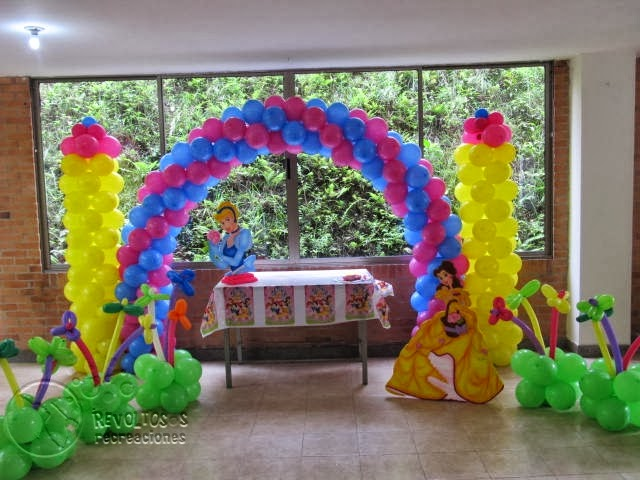 Fiesta tematica princesas disney fiestas tematicas - Decoracion fiesta princesas disney ...