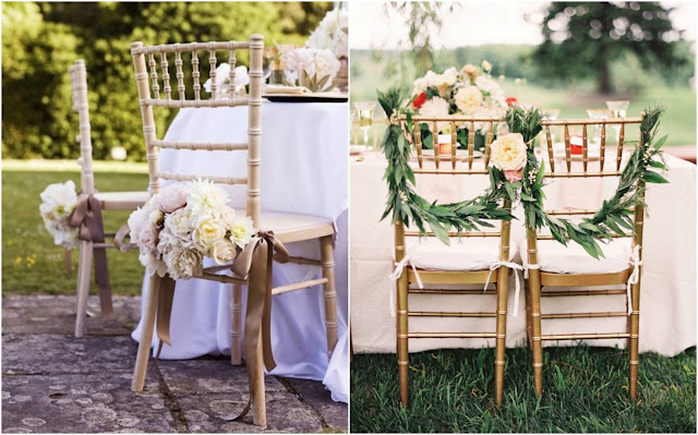boda decoración sillas wedding chairs decoration ideas
