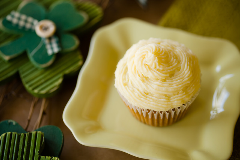 Savory Potato Rosemary Cupcakes with Irish Cheddar Frosting