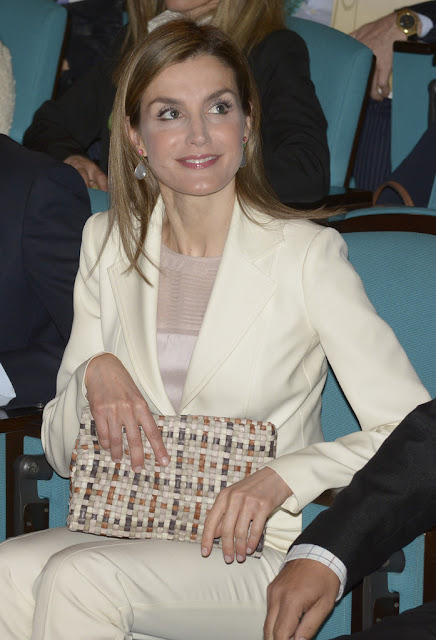 Queen Letizia of Spain attends the 2nd Congress of Rare Childhood Diseases at CosmoCaixa
