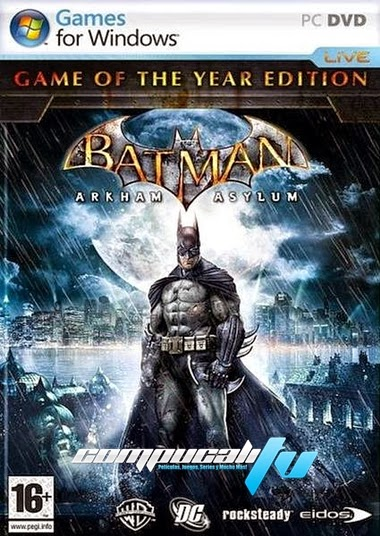 Batman Arkham Asylum GOTY Steam Edition PC Español