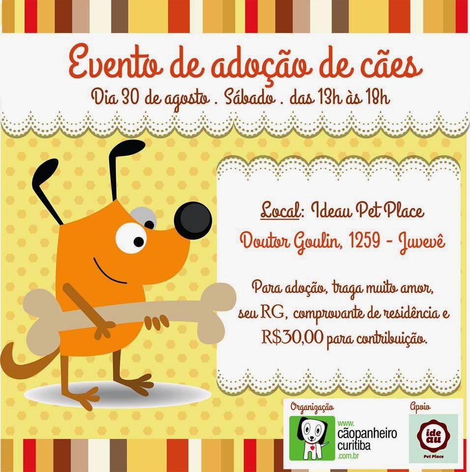 Evento de Doação Cãopanheiro no Pet Ideau