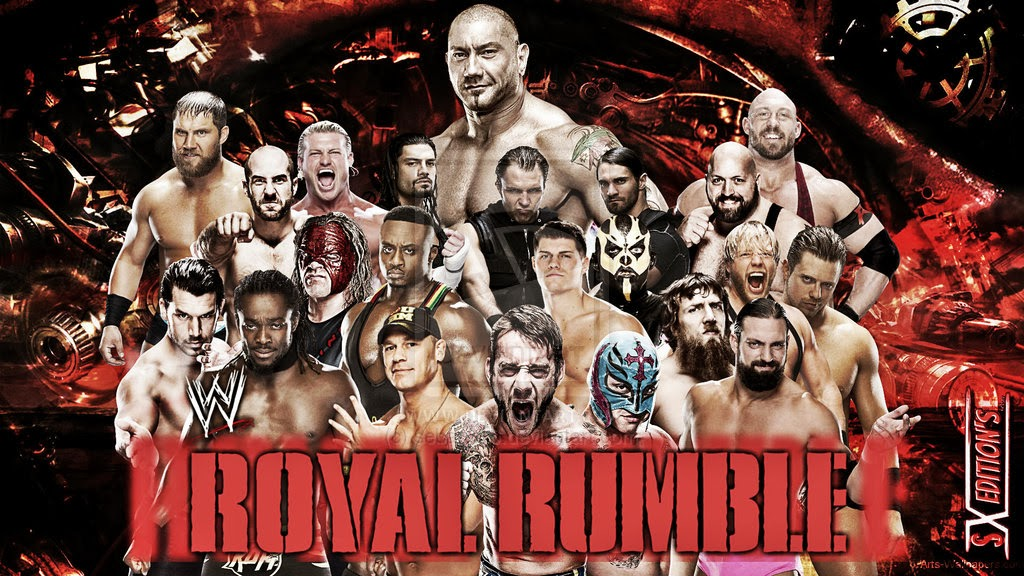 WWE Royal Rumble 2014 Match Schedule