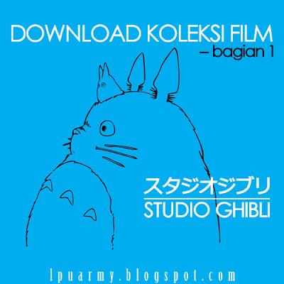 Download Koleksi Film dari Studio Ghibli Bagian 1