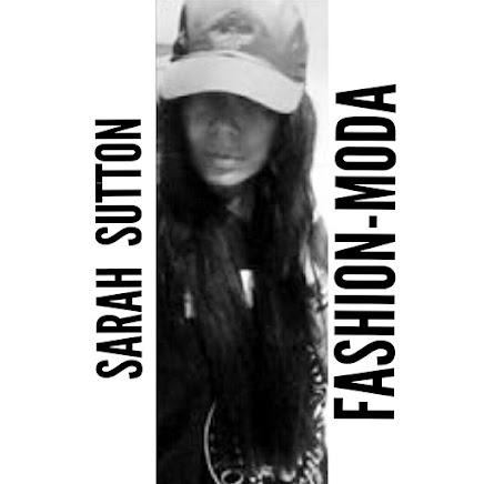 SARAH SUTTON/Diseñadora moda/Fashion designer