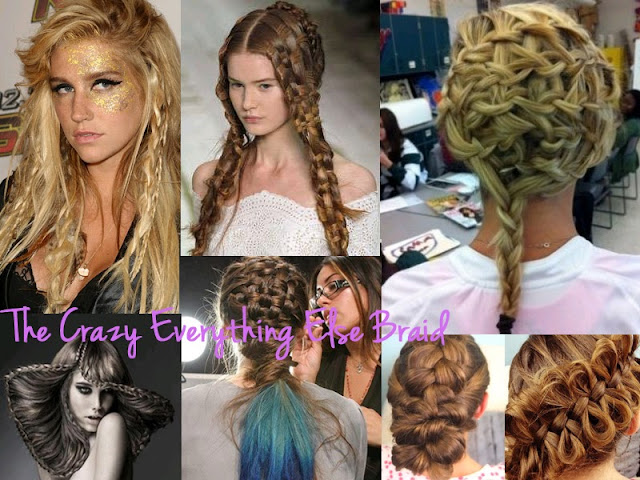 different braids, types of braids, braid, braid bible, how to braid, hair inspiration, hair, hair styles, pretty, hair do, lesimplyclassy, lesimplyclassy blog, le simply classy, le simply classy blog, samira hoque, styling, crazy braids, the everything else braid, the crazy everything else braid, cool braids, amazing braids, weird braids, different braids, how to braid, weird looking braids, how to do a trippy braid
