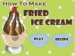 Kızarmış Dondurma Oyunu