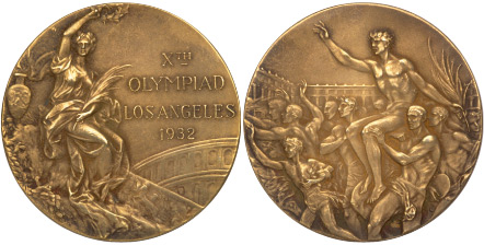 Medal Design Olympic Los Angeles 1932