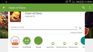 Clash fixed insufficient storage