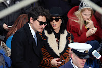 John Mayer and Katy Perry. Obama gets sworn in