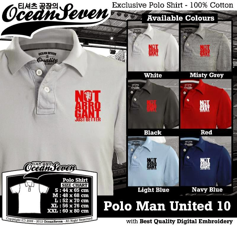 Kaos Polo Man United 10