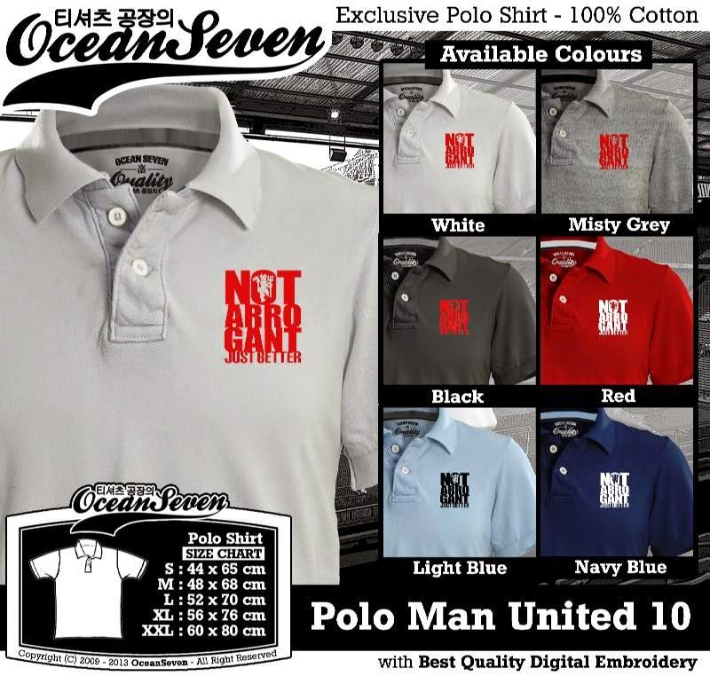 Kaos Polo Man United 10