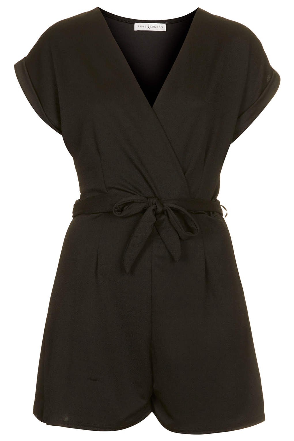black tie playsuit