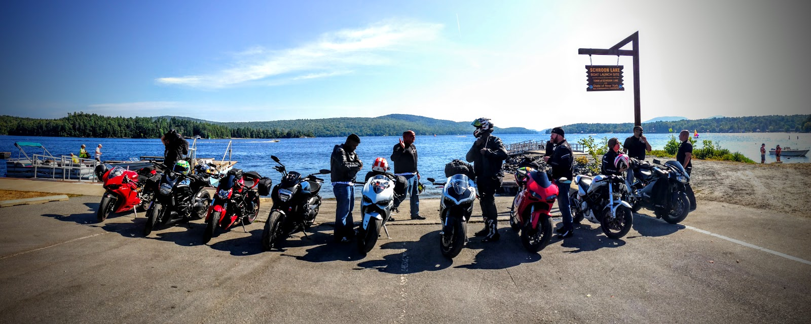Tigh Loughhead and the East Coast Ducs at the Schroon Lake, New York