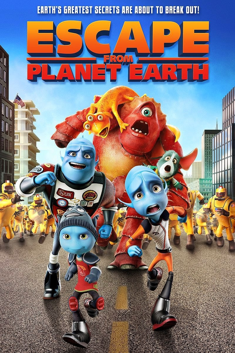 KUMPULAN FOTO FILM ESCAPE FROM PLANET EARTH TERBARU Gambar Kartun Escape From Planet Earth Lengkap