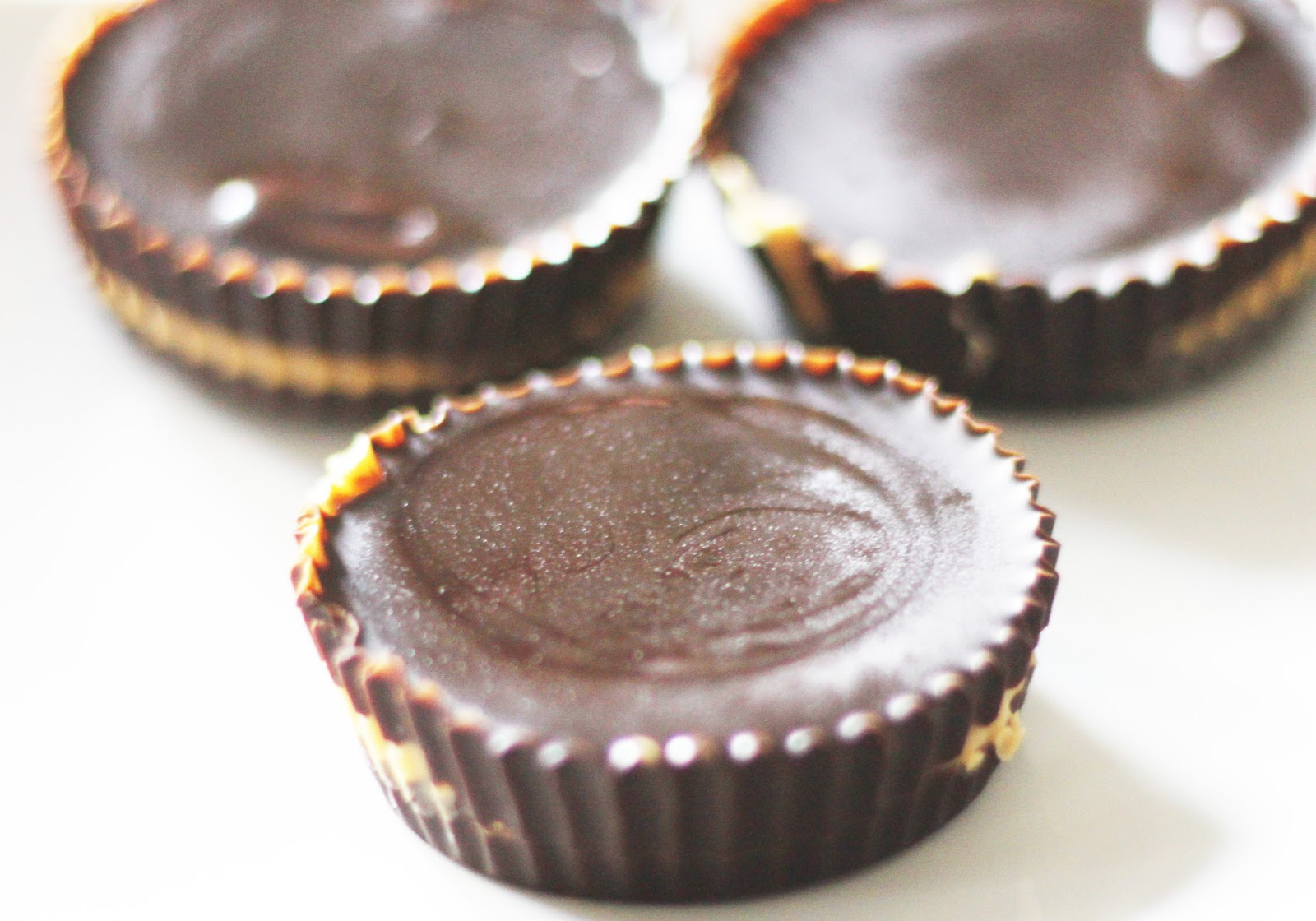 "... Small"" Business : Homemade Reese's Peanut Butter Cups in a Muffi..."