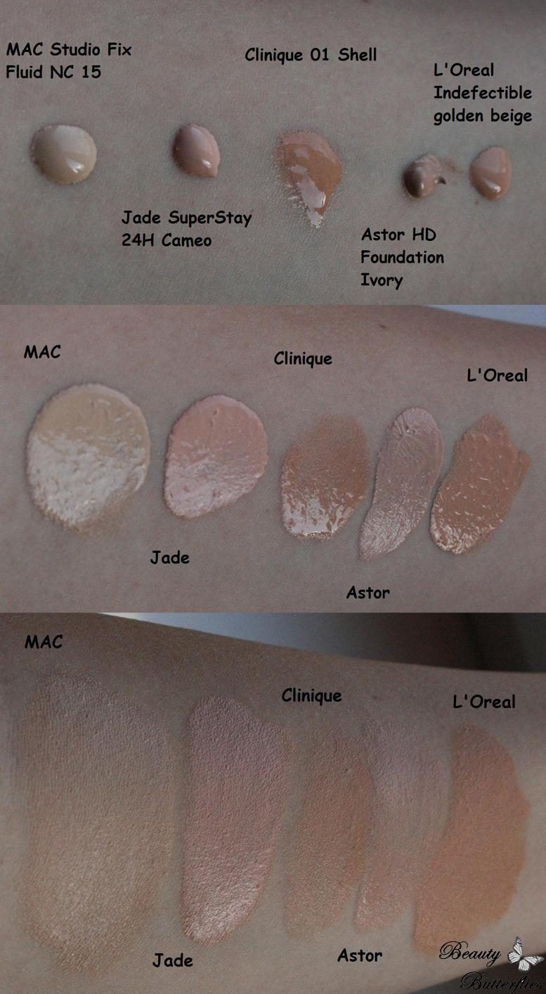 review mac studio fix fluid foundation spf 15 nc15 beauty butterflies