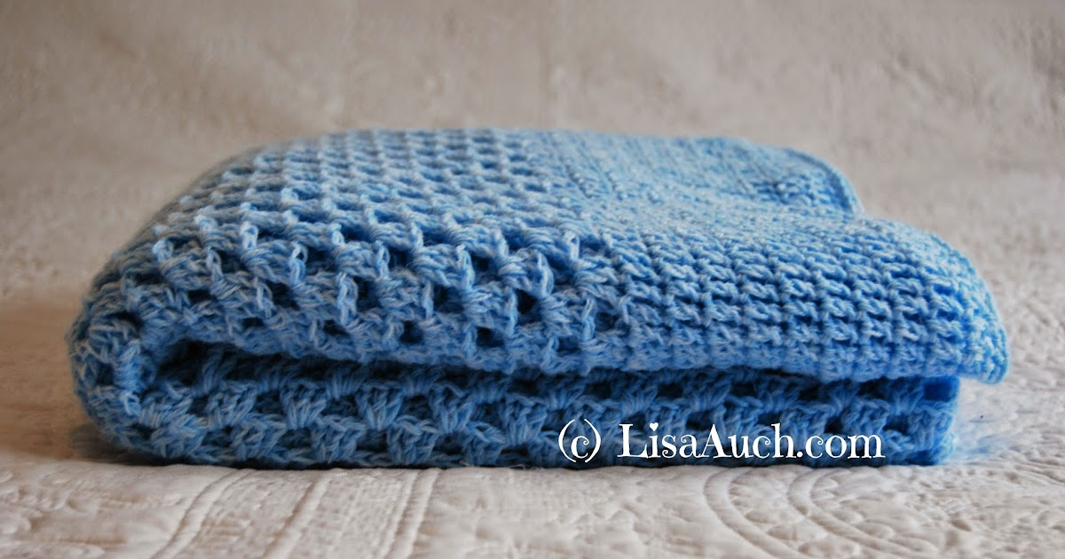 Free Crochet Patterns And Designs By Lisaauch : Free Crochet Blanket Pattern BIG Boys Crochet Blanket ...