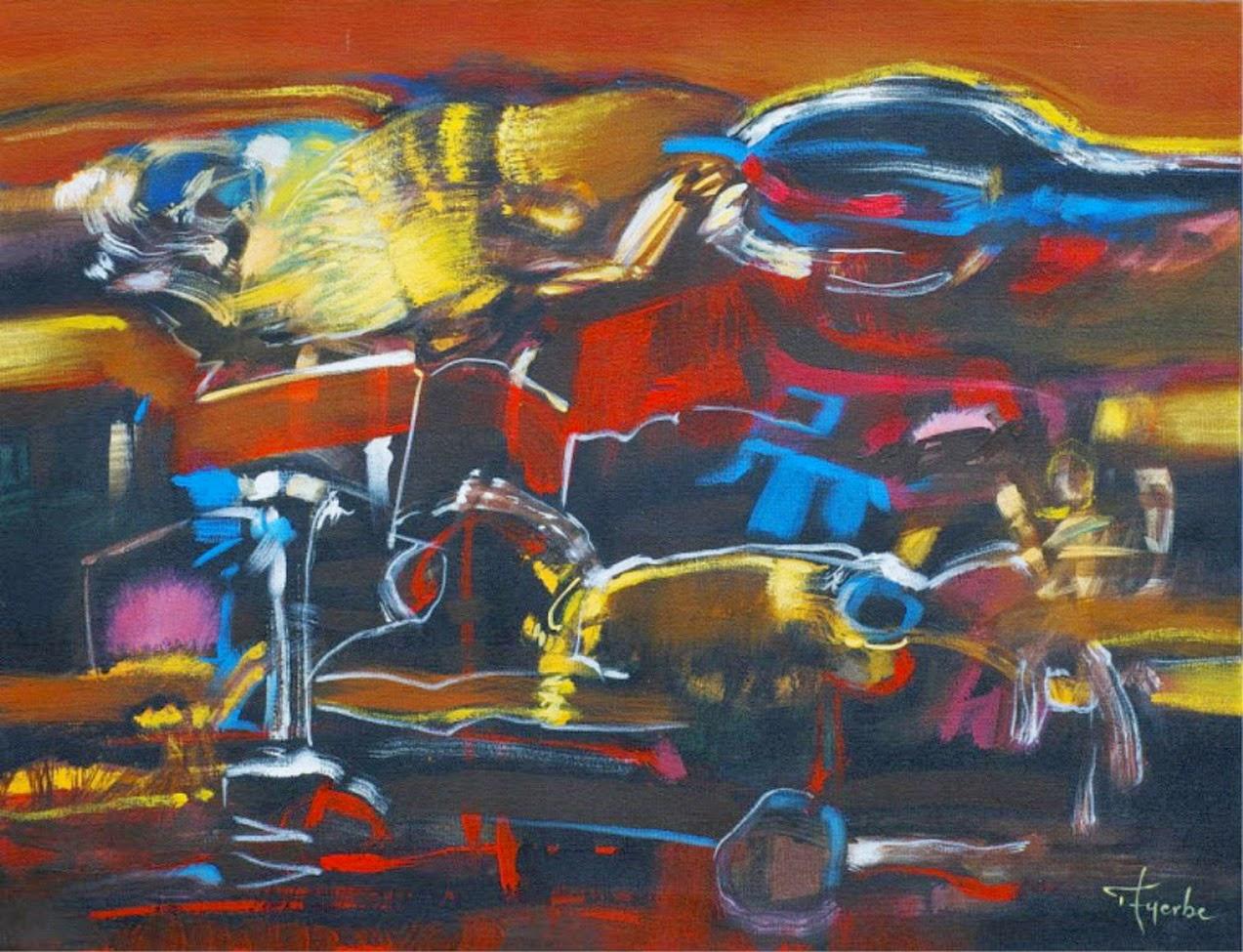 Pintura Moderna Y Fotograf A Art Stica Pintura Art Stica