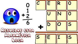 Criptoaritmética, Criptoaritmetica, Alfamética, Alfametica, Criptosumas, Matemáticas Locas, Matelocas, Desafíos matemáticos, Problemas matemáticos