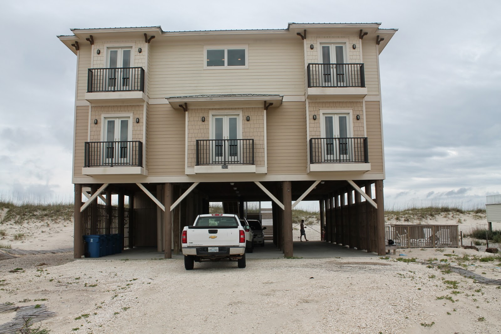 Here are some photos from our 7 day family vacation to gulf shores al we went with davids family there were 18 of us sharing a beach house that week