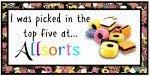 Wyróżnienie w wyzwaniu Allsorts Challenge Blog