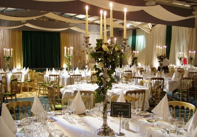 Luxurious Vintage Wedding Reception Table Decorations