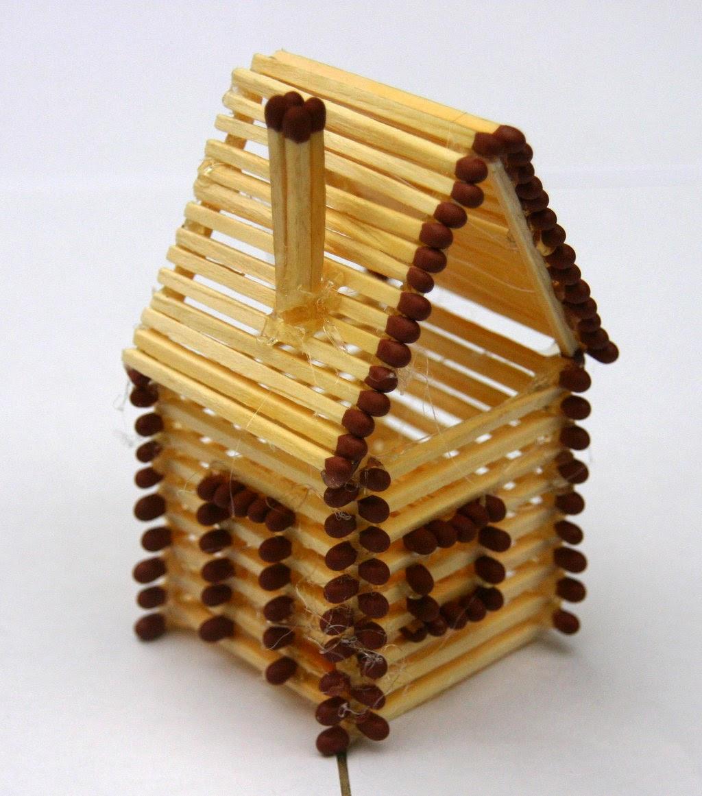 ساخت چوب دازینگ Kibrit ile Yapılan Sanat Eserleri - Ofpof