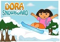 Dora Snowboard Games