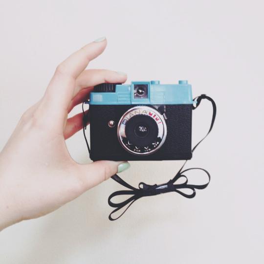 Diana mini film lomo camera
