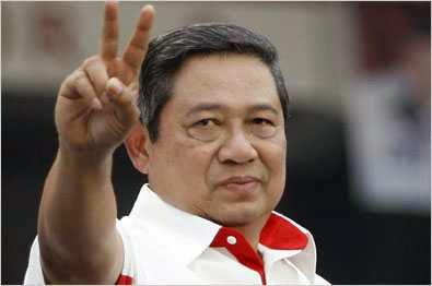Foto SBY saat Kampanye