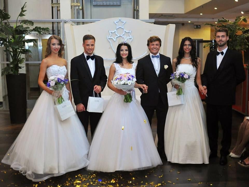 Mis un Misters Latvija Miss & Mister Latvia 2014 Winners Lasma Zemene and Kristaps Vilde