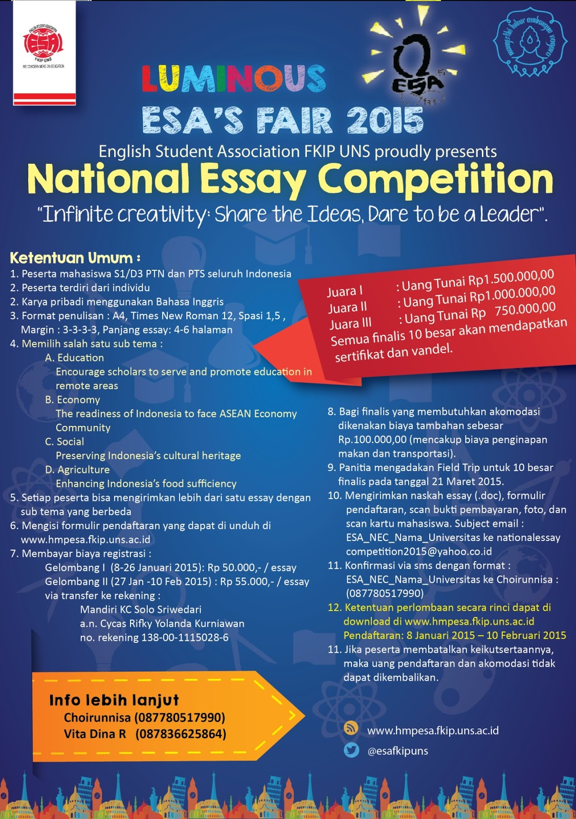 economic essay competition 2015