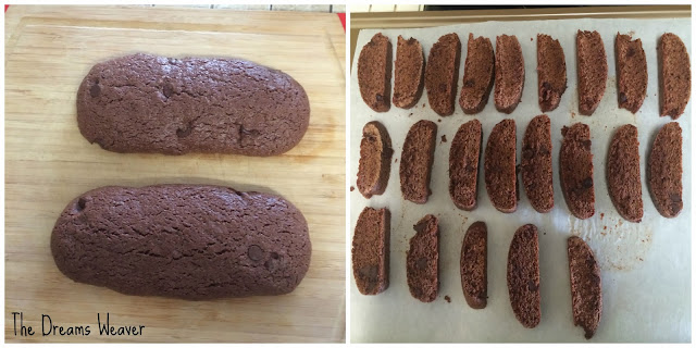 Double Dark-Chocolate and Ginger Biscotti~ The Dreams Weaver