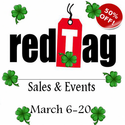 RED TAG SALES & EVENTS