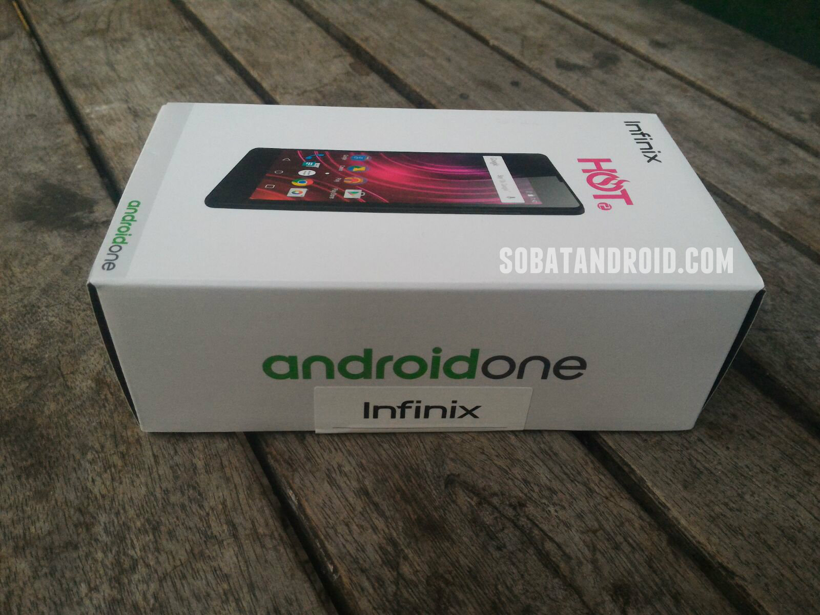 Unboxing Infinix Hot 2 Android One Lazada Sobatandroid.com
