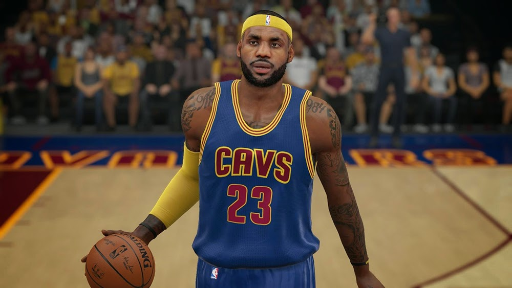 Cavs Alternate Uniform | NBA 2K15