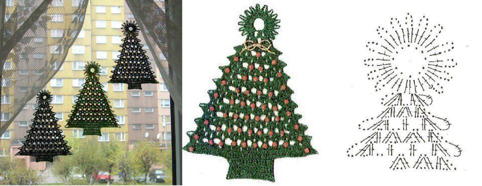 3 Patrones de Crochet para Navidad - Patrones Crochet
