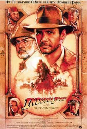 Poster Indiana Jones y la Última Cruzada