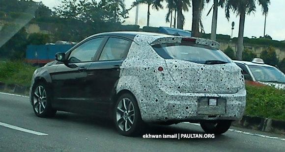 5 Gambar Spyshot Proton Preve Hatchback