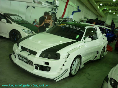 Ford TX3 convert Wide Body Skyline R34